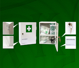3. FIRST AID KITS FOR WORK-SHOPS