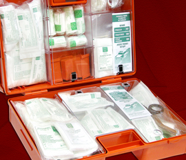 4. FIRST AID KIT CONTENTS